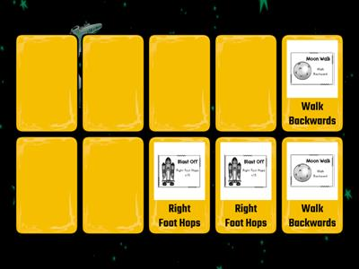 Outer Space Matching Game 1