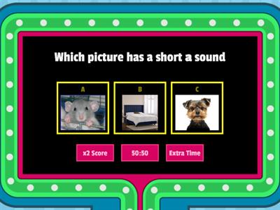 Short Vowel Review
