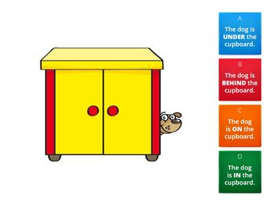 KIDS STARTER - Unit 1 - PREPOSITIONS