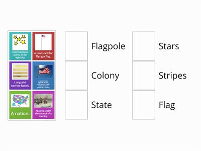 American Flag Vocabulary Game