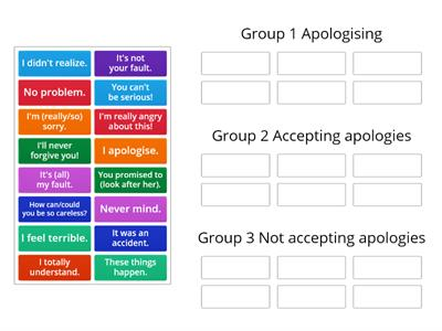 Wider World 2 Unit 3 (3.6) Apologizing