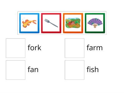 Oxford Phonics Letter Ff