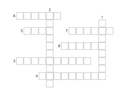 Literacy Crossword