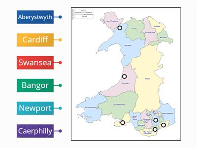 Places in Wales