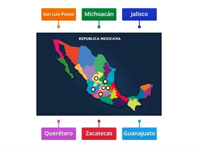 Estados de la Republica Mexicana
