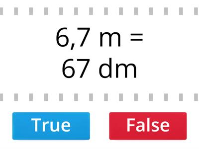TRUE (vero) or FALSE (falso)? - 1