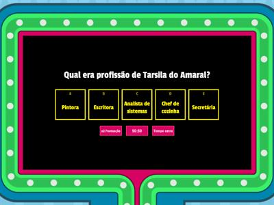 Quiz da Tarsila do Amaral