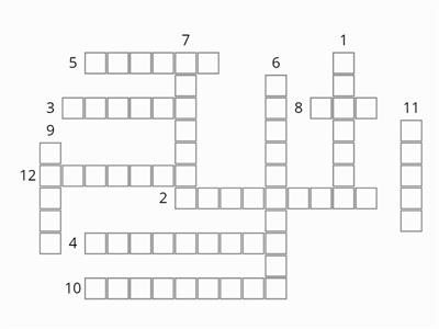 test crossword
