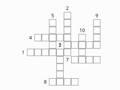 Year 3 Crossword week 4