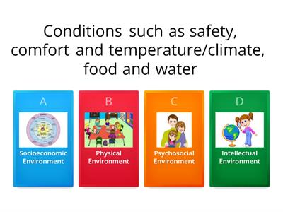 Different Types of Environments Impacting on Children