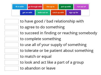 3-part phrasal verbs