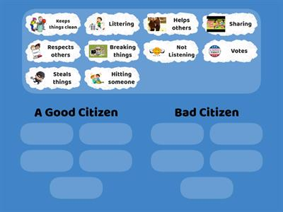 A Good or Bad Citizen?
