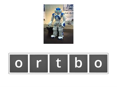 BBC Cara and Robot words