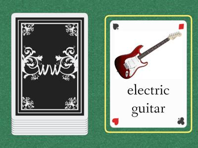 cards gg4  Musical instruments