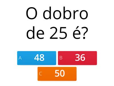 Quiz 4°ano ensino fundamental