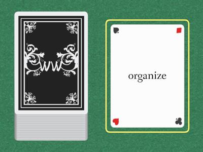 Wilson 8.2  Word Cards