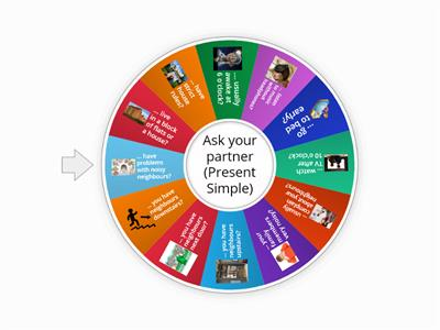 Ask your partner (Present Simple or Continuous)