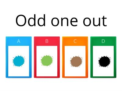 Odd one out Review 5-7