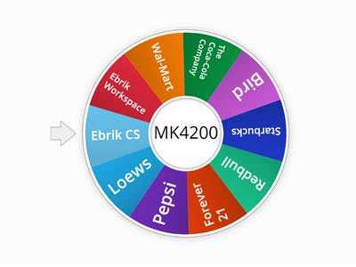 MK 4200 - C2: Random number wheel