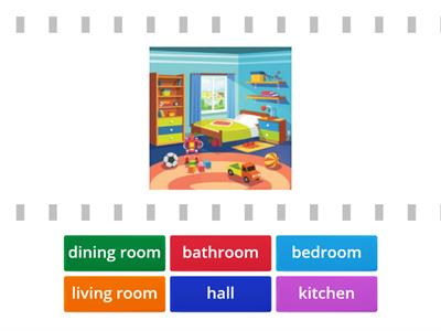 Kid`s Box 1 - Rooms