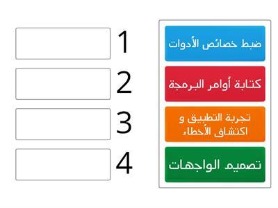 مراحل كتابة البرنامج بالفيجوال بيسك موارد تعليمية