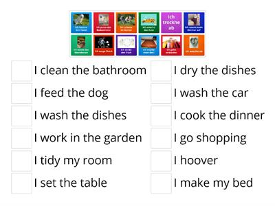 German - household chores