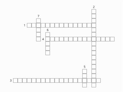 Collecting data crossword