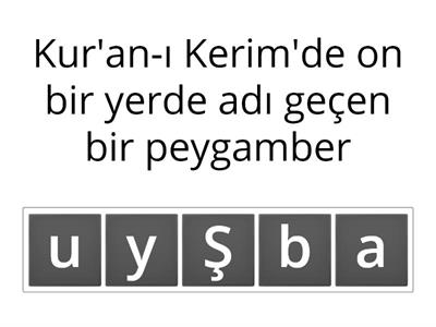 Hz. Şuayb (as)