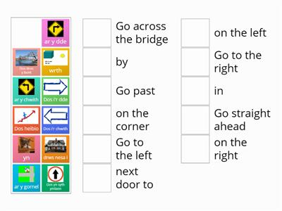 Welsh directions year 4