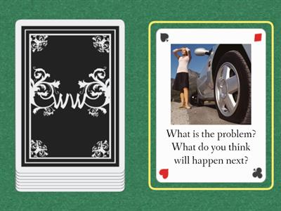 Inferences/Problem Solving deck 3
