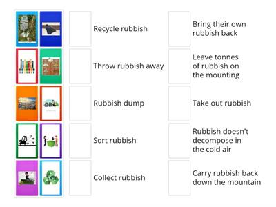 Rubbish collocations