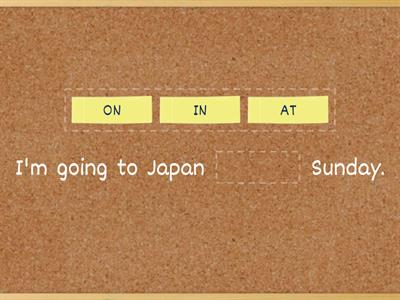 prepositions of time - IN, ON, AT!!!