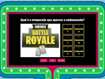 Quiz do Fortnite