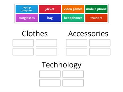 Clothes and accessories and technology