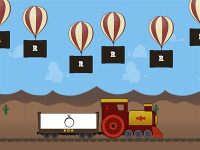 Alphabet revision: R, S, T and U