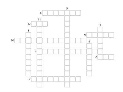 Crossword Puzzle Teaching Resources