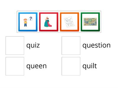 Oxford Phonics Letter Qq