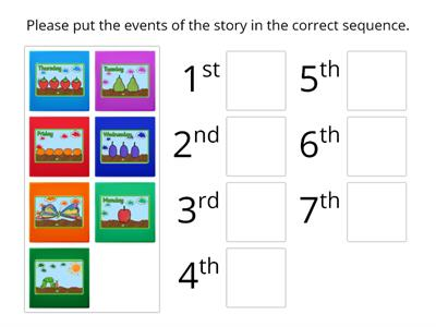 Story Sequencing 'Purple Group'