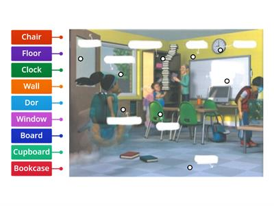 Super Minds 2 school things