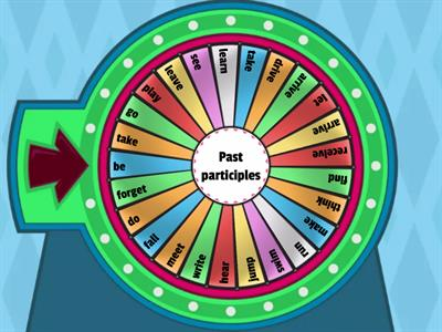 Verbs - past participle