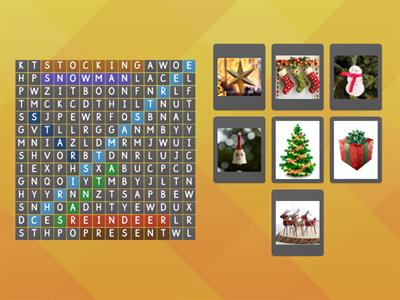 Copy of Christmas word search