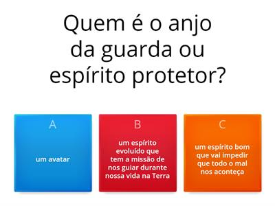 Quiz do anjo da guarda