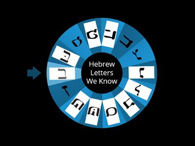 hebrew wheel 1