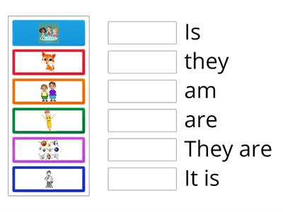 verb to be unit one grade one