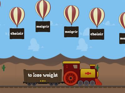 IR verbs - Balloon Pop
