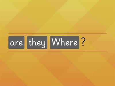 Where are they? (1)