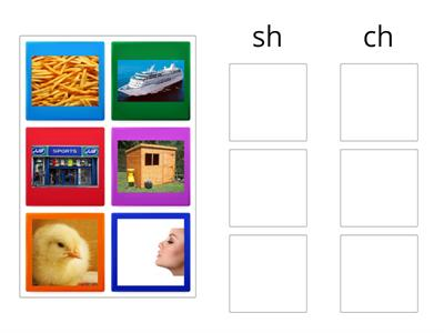 phonics sh and ch
