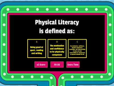 Physical Literacy & Self-Confidence Quiz