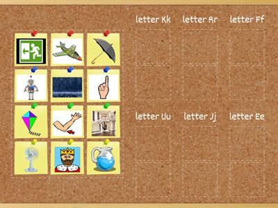 review letter and sound