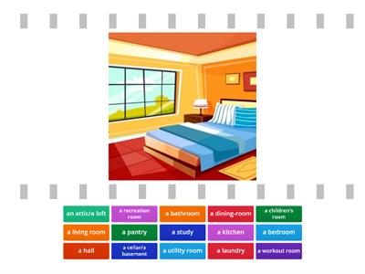 Rooms & Facilities in a House